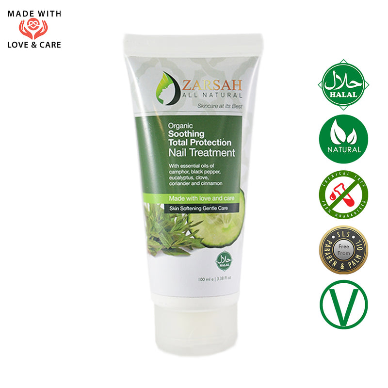 Organic Soothing Total Protection Nail Treatment