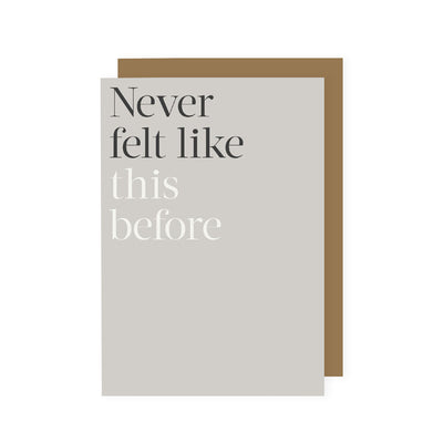 Só Soy - Never Felt Like This Before Kinshipped Greeting Card