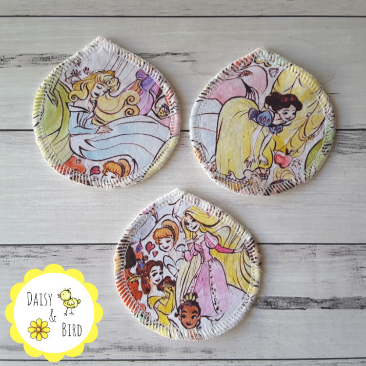 Face Scrubbies x 3 - Sketch Princesses - Daisy & Bird