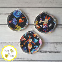 Face Scrubbies x 3 - Black Silo - Daisy & Bird