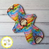 LaLuna Cloth Pad Sewing Pattern - Full Bundle 2.5 inch snapped width - Daisy & Bird