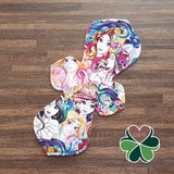 Elegance Cloth Pad Sewing Pattern - 14 Inch - 2.5 inch snapped width - Daisy & Bird