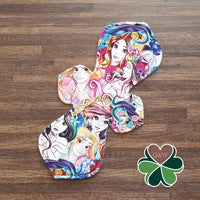 Elegance Cloth Pad Sewing Pattern - 15 Inch - 2.5 inch snapped width - Daisy & Bird