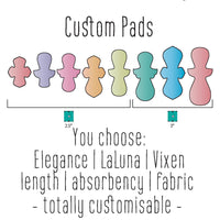 Custom Made Pads - Daisy & Bird