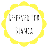 Reserved for Bianca - Daisy & Bird
