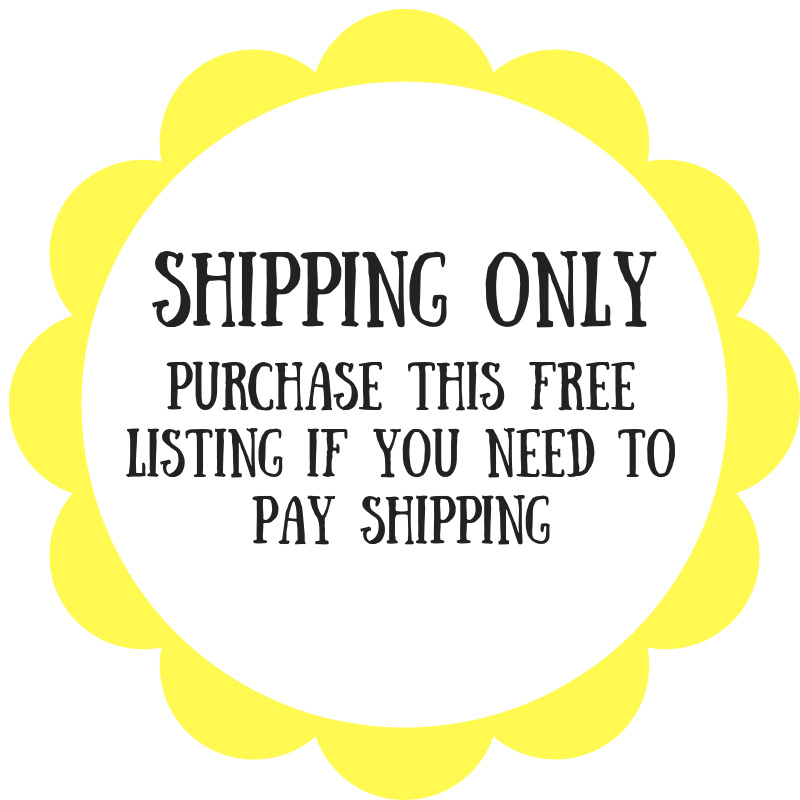 SHIPPING ONLY - Daisy & Bird
