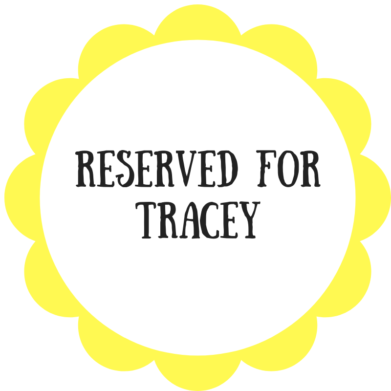 Reserved for Tracey - Daisy & Bird