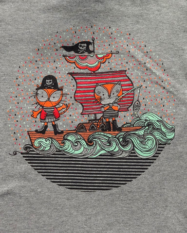 Boombi Pirate Cats T-Shirt