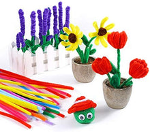 Load image into Gallery viewer, Twistable Colorful Pipe Cleaners