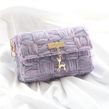 Load image into Gallery viewer, Handmade Silk Ribbon Bag