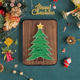 Easy Christmas Tree String Art Kits
