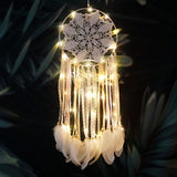 Tassel Feather Macrame Dream Catcher
