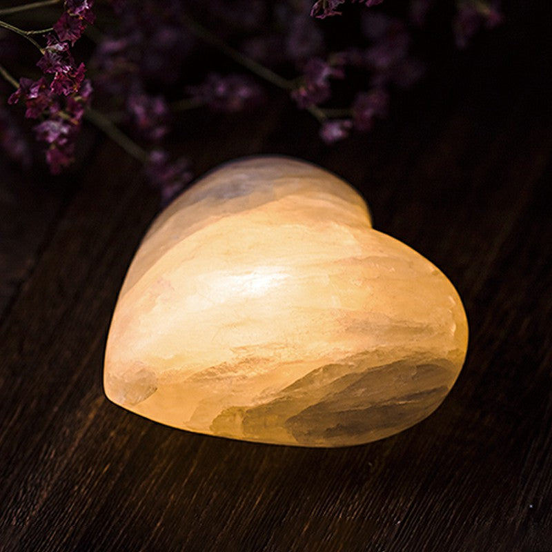 Romantic Love Natural Stone Salt Lamp