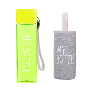 MY SQUARE BOTTLE - Its Cool To Be Square 500ml Drink Bottle.