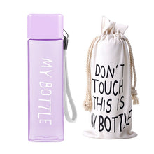 Load image into Gallery viewer, MY SQUARE BOTTLE - Its Cool To Be Square 500ml Drink Bottle.