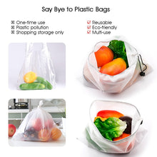 Load image into Gallery viewer, 15pcs Reusable Produce Bags