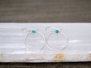 Caporal Earrings - Turquoise