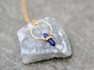 Crest Necklace - Sodalite