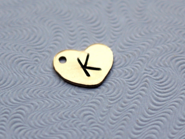 Gold Filled Heart Charm - Add A Charm
