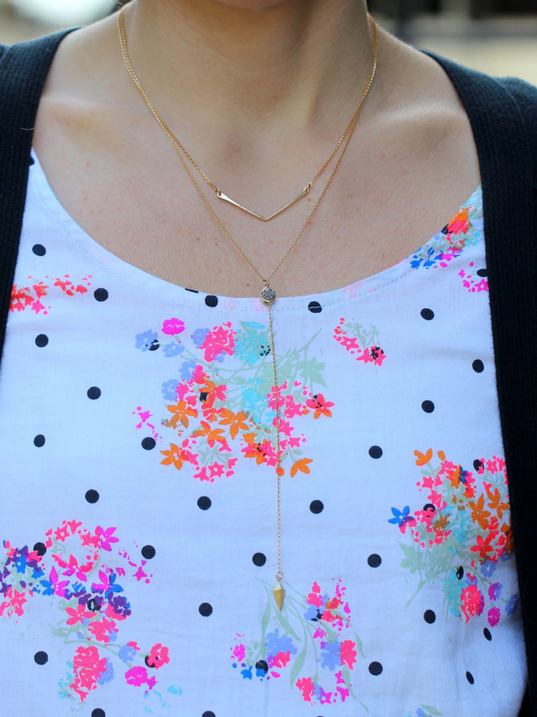 Lariat Layering Necklace