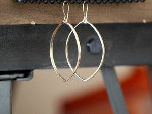 Large Marquis Hoops