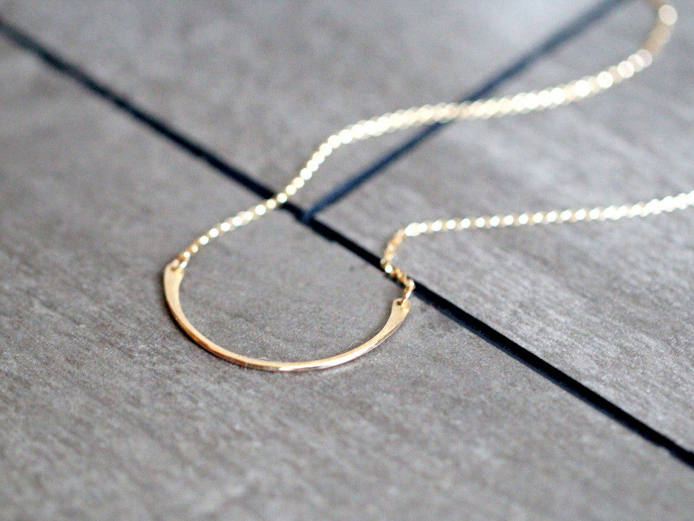 Arc Layering Necklace
