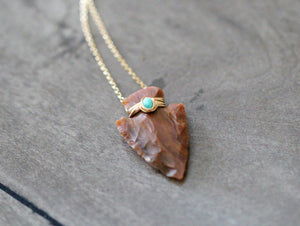 Canyon Necklace - Jasper