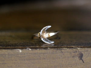 Moonbeam Ring - Crystal Quartz
