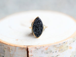 Marquis Druzy Ring - Eclipse