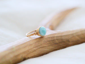 May Ring - Larimar