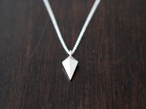 Arrowhead Layering Necklace - Sterling Silver