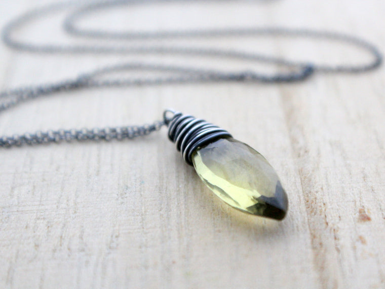Dawn Necklace (Lemon Quartz)