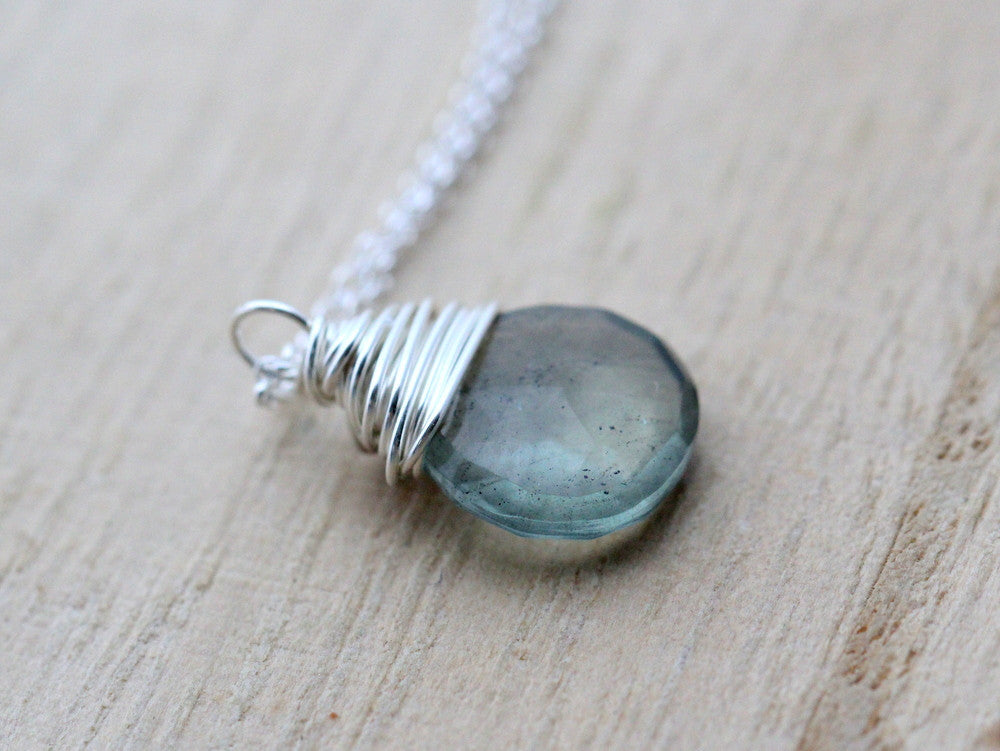 marine necklace and white gold in diamond aqua top pendant aquamarine oceana