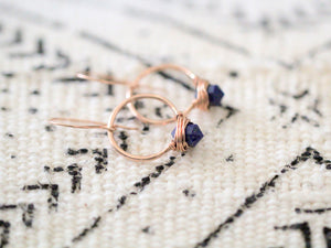 Pike Hoops - Lapis Lazuli  ( As Seen On The Sinner )