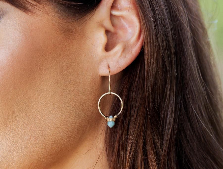 Pike Hoops - Larimar