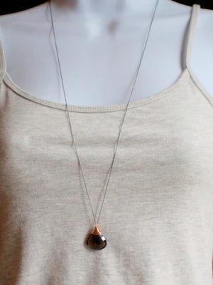 Smoky Quartz Necklace