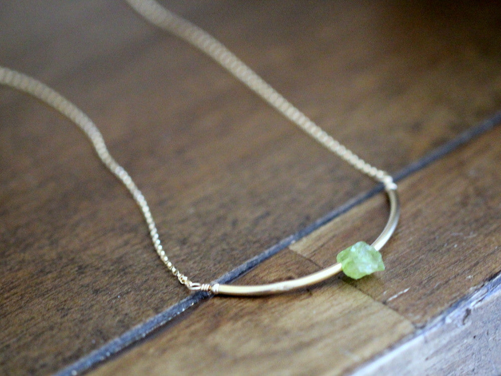 Valkyrie Necklace - Peridot