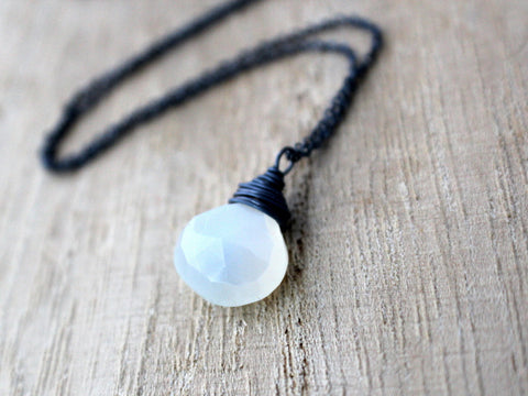 Moonshadow Necklace In Sterling