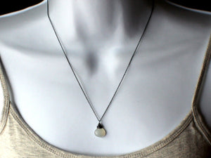 Moonshadow Necklace - Sterling Silver