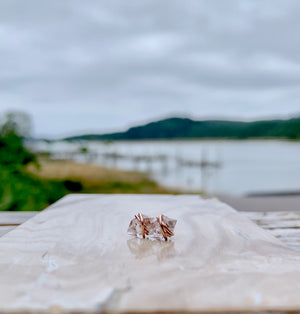 Herkimer Diamond Studs - Larger Size