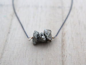 Argonaut Necklace (Pyrite)