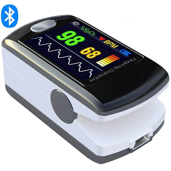 CMS50EW Fingertip Pulse Oximeter with Alarm/Bluetooth