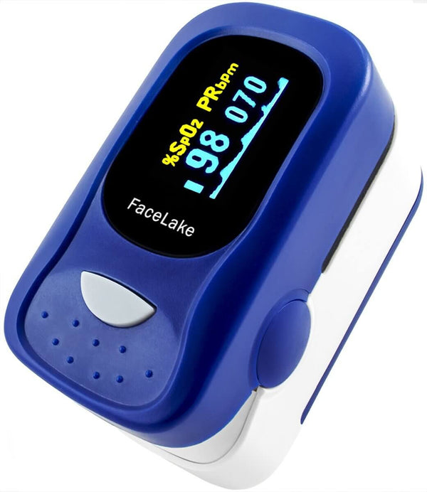 FL100/FL420 Pulse Oximeter with Alarm, Blood Oxygen Monitor