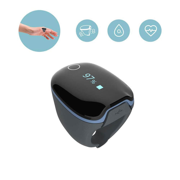 FL340 Pulse Oximeter with APP & PC Software, Vibration Notification