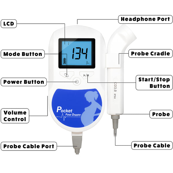 FD300 Fetal Doppler