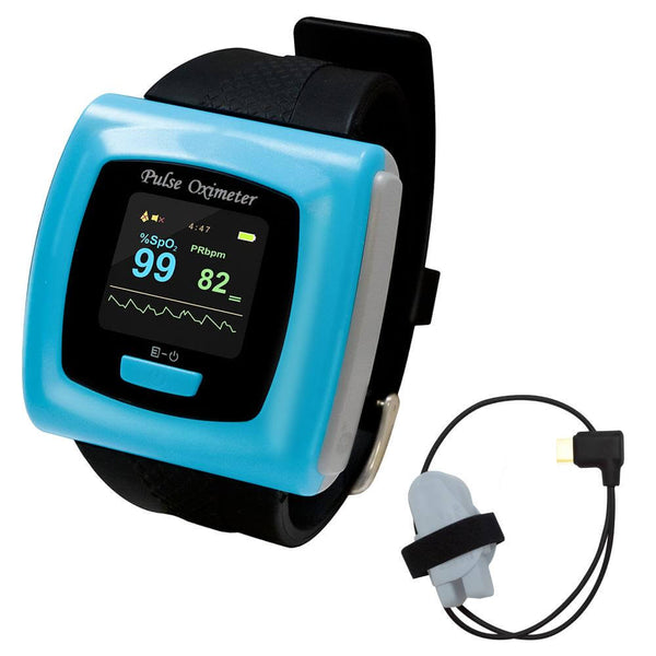 CMS-50F Wristband Pulse Oximeter with Software
