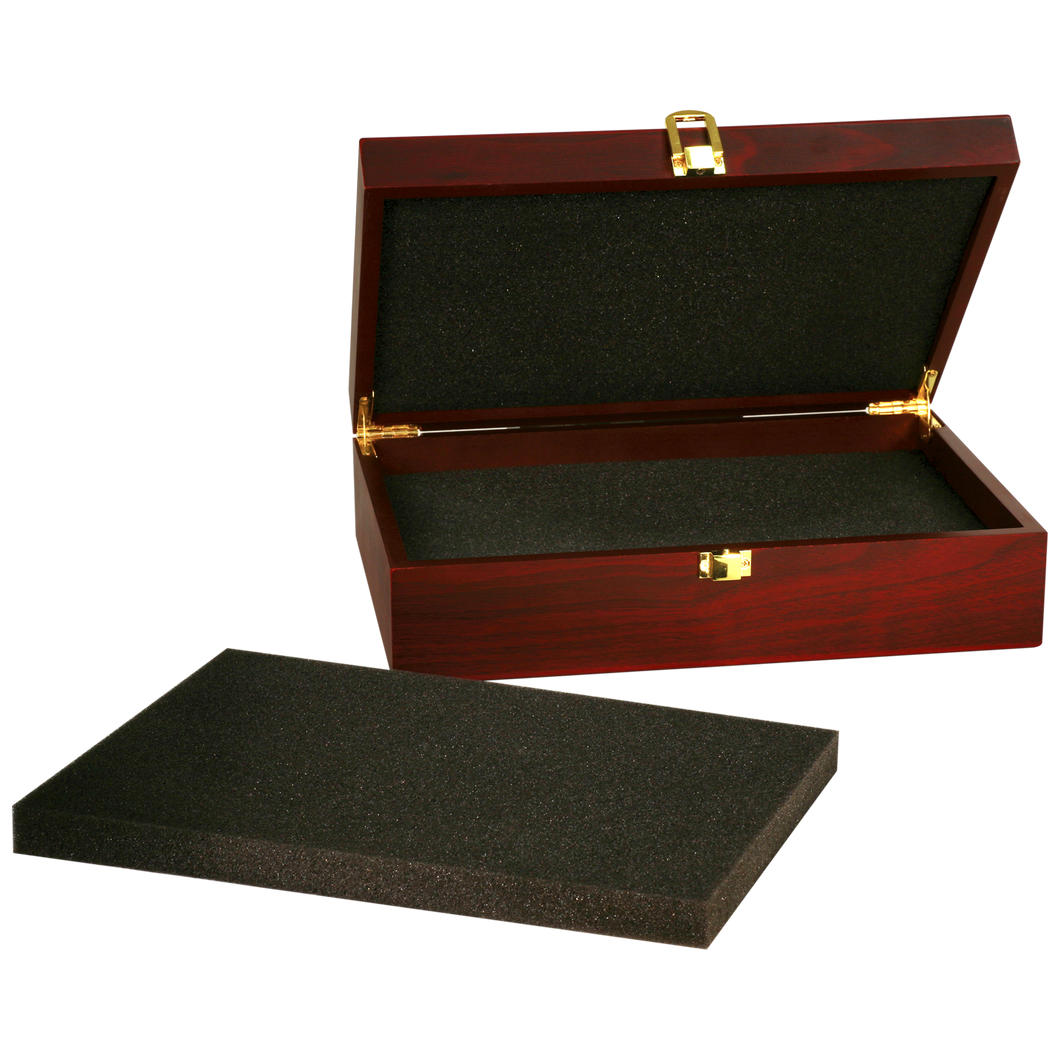 Medium Rosewood Finish Gift Box