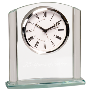 Arch Glass Clock