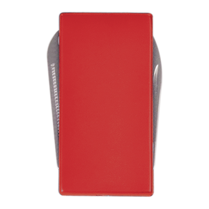 Red 3-Function Money Clip (Knife, File & Money Clip)