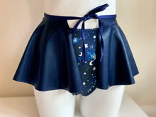 Load image into Gallery viewer, Navy Tie Skirt